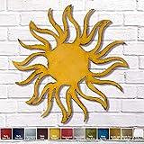 Sun metal wall art home decor - Choose 11', 17', or 23', Choose Patina color, Choose the Sun or any Horoscope Zodiac Symbol