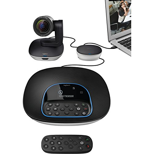Best Deals! Logitech Group Video Conferencing System - 1920 x 1080 Video (Content) - 30 fps - TAA Co...
