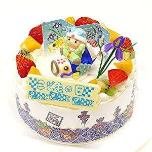 CAKE EXPRESS こどもの日生クリームショートケーキ 5号