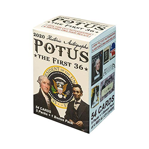 2020 Historic Autographs POTUS - The First 36 Blaster Box