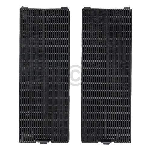 Lot de 2 filtres à charbon actif DL-pro pour hotte Gorenje 182192 Candy 49016876 Type K