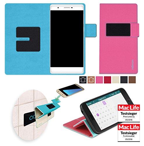 Hülle für Phicomm Passion 2S Tasche Cover Hülle Bumper   Pink   Testsieger