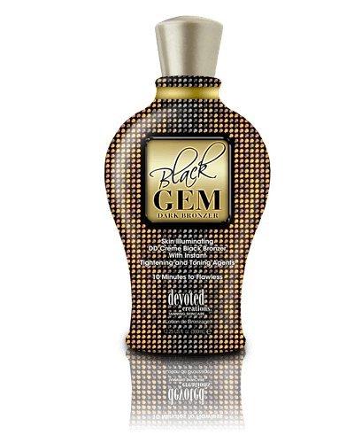 El Mejor Activador Bronceado Black Gem Dark Bronzer de 360ml la linea DC Line de Devoted Creations Tanning Skincare con Bronzer a 150Fold DHA de bronceado solarium