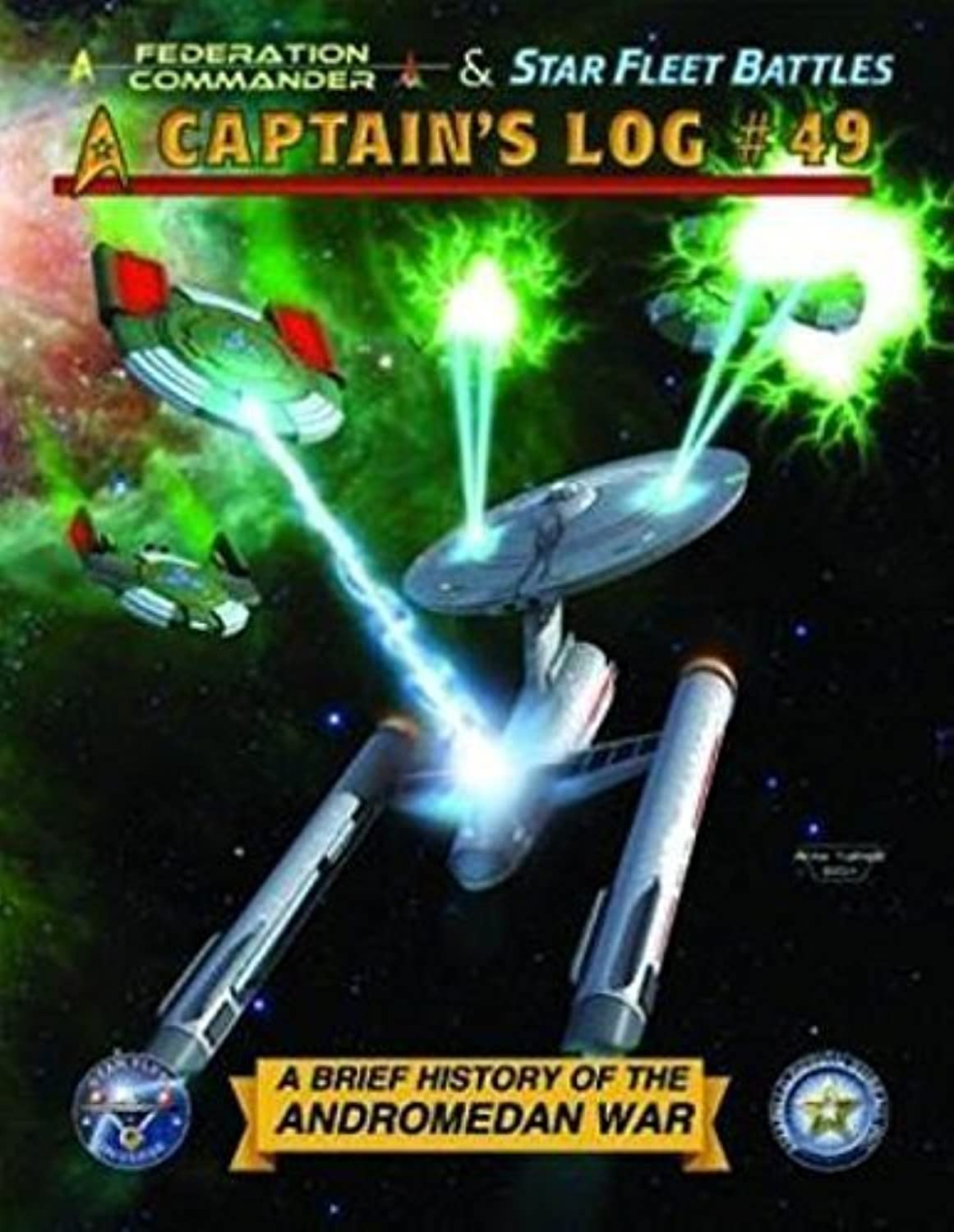 ADB  Captain's Log  49 Magazine for the Star Fleet Battles, Federation Commander, Starmada & Federation & Empire Game Series by Star Fleet Battles
