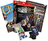 LEFT HANDED Chord Buddy Guitar Learning System w/True Tune Clip-on Chromatic Tuner LEFTY