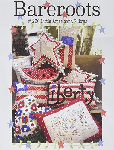 Bareroots 230 Americana Pillows Ptrn