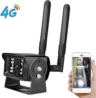 Full HD 1080P 4G Tarjeta SIM Wi-Fi Cámara IP Caja de metal ONVIF Mini cámaras de seguridad para CCTV para exteriores con detección de movimiento Visión nocturna a prueba de agua a prueba de agua4G