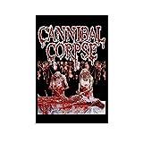 HOGOMO Vintage Music Poster Cannibal Corpse...