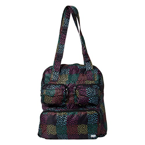Lug Women's Puddle Jumper Packable, Camo, Confetti Multi, One size