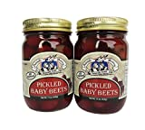 Amish Wedding All Natural Pickled Baby Beets 15 Ounces (Pack of 2)