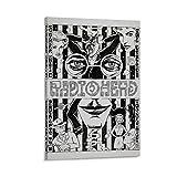 SLIQ Radiohead Concert Poster Poster dekorative Malerei