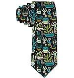 Gnomi da uomo Succulente Cactus Terrario Cravatta Cravatta in seta Cravatta Cravatte Eleganti cravatte