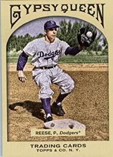 2011 Topps Gypsy Queen Baseball Card # 35 Pee Wee Reese - MLB Trading Card