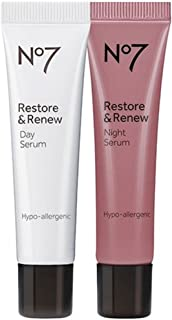No7 Restore & Renew Day & Night Serum