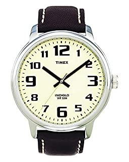 Timex Original T28201 PF Men's Analog Quartz Watch with Brown Leather Strap (B000N5XDBA) | Amazon price tracker / tracking, Amazon price history charts, Amazon price watches, Amazon price drop alerts
