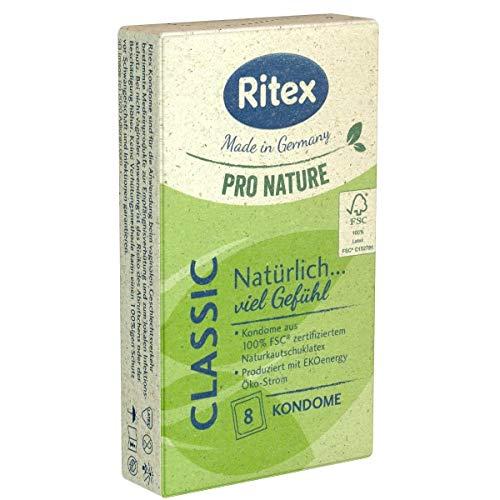 Ritex Pro Nature Classic - 8 condones ecológicos