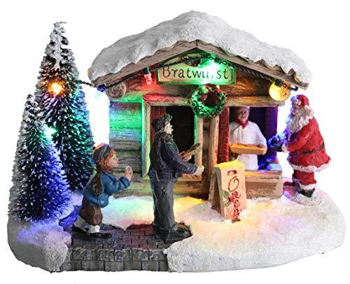 FEERIC CHRISTMAS Basedevillageescalieraveclac