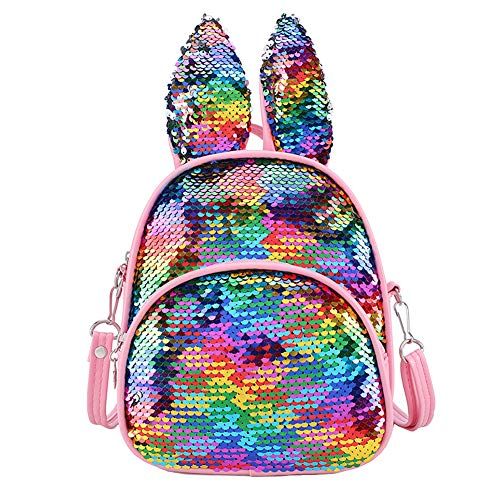 Homeofying - Bolso mochila para mujer multicolor S