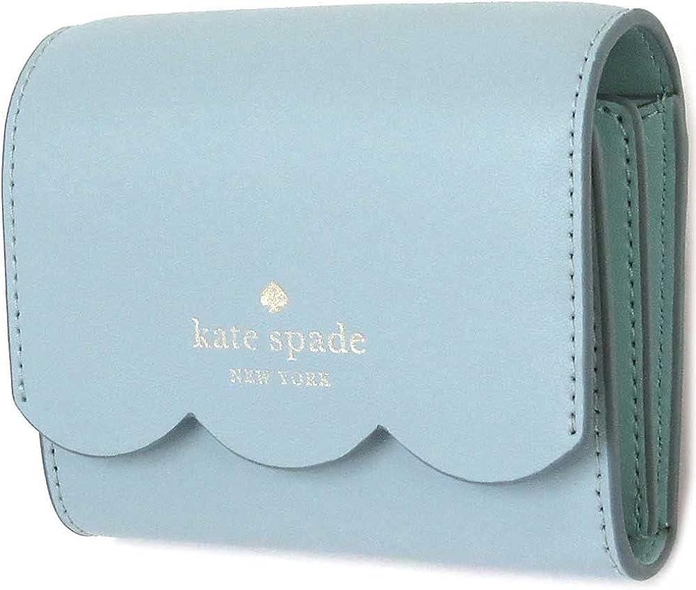 Kate Spade New York gemma small flap wallet (cloud mist)
