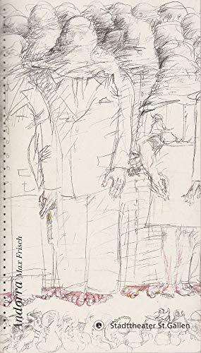 Programmheft Max Frisch ANDORRA Premiere 17 September 1999