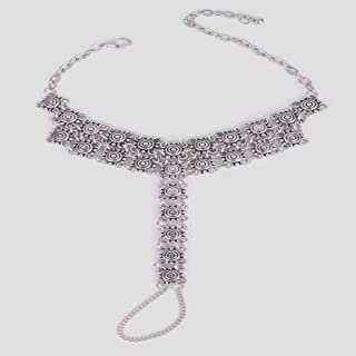 Fashion Beach Anklet Toe Chain Link Foot Jewelry Barefoot Sandal Beach Women