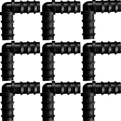 Connettori per Tubi Flessibili per 16 mm Sistema di Irrigazione (Gomito)