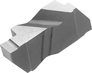 Full Radius THINBIT 3 Pack LGT136D2RFRC 0.136 Width 0.250 Depth Grooving Insert for Steel TiN Coated Carbide Cast Iron and Stainless Steel with Interrupted Cuts