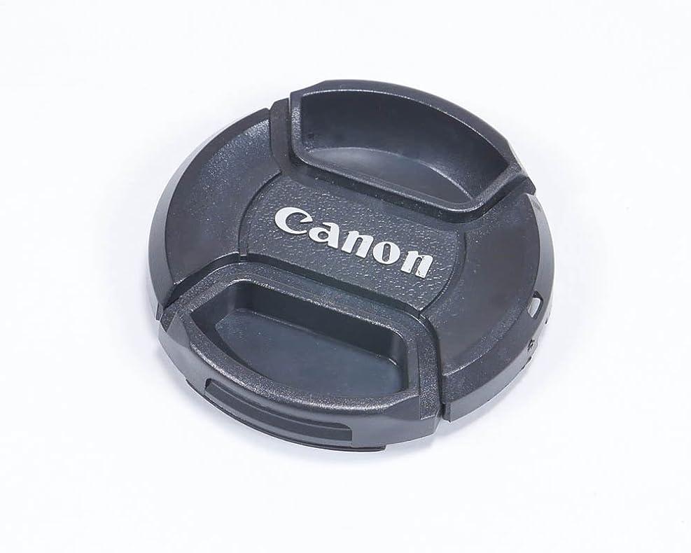 可動ガソリン楽しむキャノン用 49mm レンズキャップ 互換品