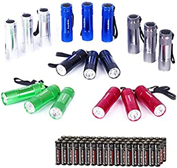 18-Pack EverBrite Mini LED Flashlight
