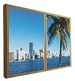 Ventanas Falsas Decorativas Iluminada Bahia Vizcaína Miami