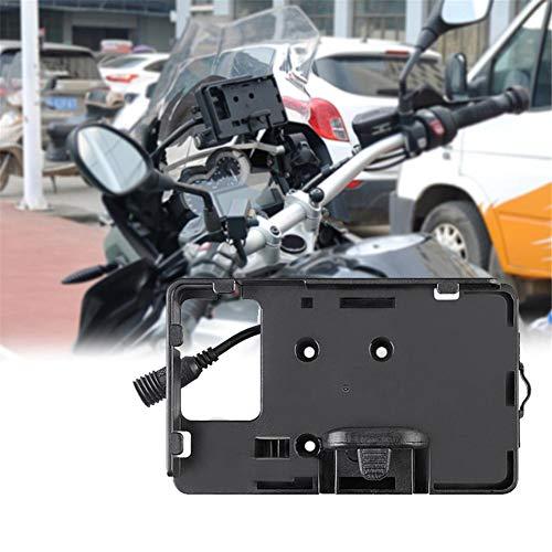 Fancyland - Soporte de moto para manillar de moto de 4,0 a 6,3 pulgadas GPS para smartphones y otros dispositivos, para BMW R1200GS F700 800GS CRF1000 Honda Moto