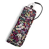 Vera Bradley Women's Signature Cotton Heat Resistant Curling & Flat Iron Holder Travel Accessory, Itsy Ditsy, One Size