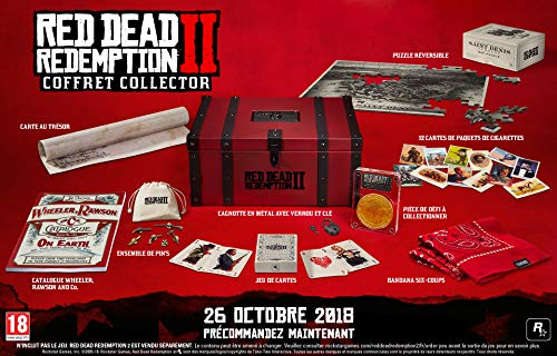 RED DEAD REDEMPTION 2: COLLECTOR'S BOX - OHNE Spiel!