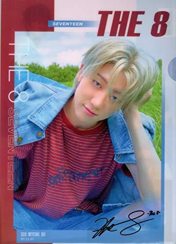 SEVENTEEN(セブンティーン) THE 8 ディエイト ??? C A4 クリアファイル 韓国 ap03