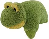 Frog Zoopurr Pets 19 inch Large, 2 in 1 Stuffed Animal and Pillow | Expandable Cushion | Premium Soft Plush Cute Toy Travel Comfort | Great Present for Toddlers and Kids