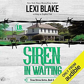 Siren in Waiting                   Written by:                                                                                                                                 Lexi Blake (writing as Sophie Oak)                               Narrated by:                                                                                                                                 CJ Bloom,                                                                                        Ryan West                      Length: 10 hrs and 38 mins     Not rated yet     Overall 0.0