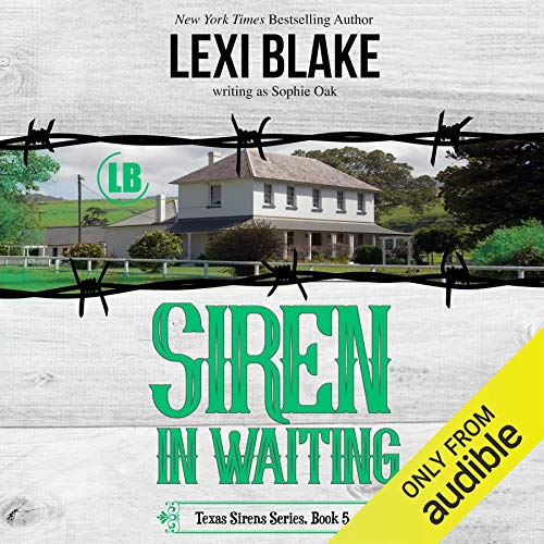 Siren in Waiting                   De :                                                                                                                                 Lexi Blake (writing as Sophie Oak)                               Lu par :                                                                                                                                 CJ Bloom,                                                                                        Ryan West                      Durée : 10 h et 38 min     Pas de notations     Global 0,0