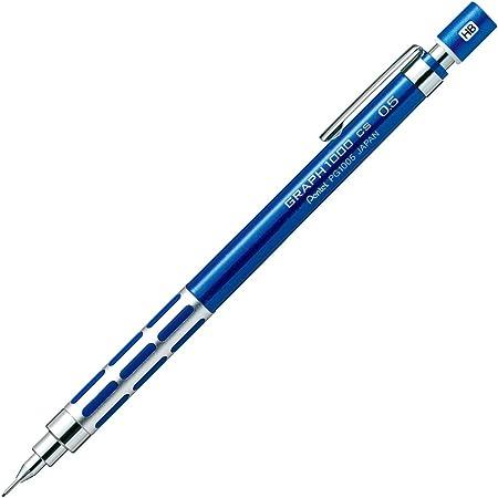 ぺんてる シャープペン グラフ1000CS XPG1005CSC ブルー