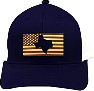 f9433f761afb8 Stoked Hats - Handmade US Flag - Texas Unique Custom-Made Lone Star state  cut
