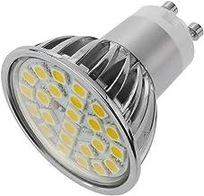 SMD GU10 LED Bulb 3W 230VAC Warm Light 120 ° 50mm