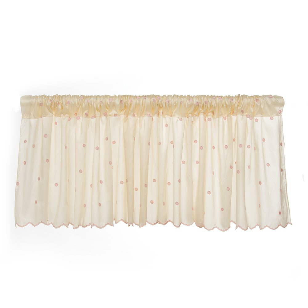 Glenna Jean Florence Window In a popularity Taupe Now free shipping Valance Pink
