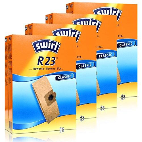 4 x Swirl Papierbeutel R 23 MP StaubsaugerStaubbeutel Microvlies