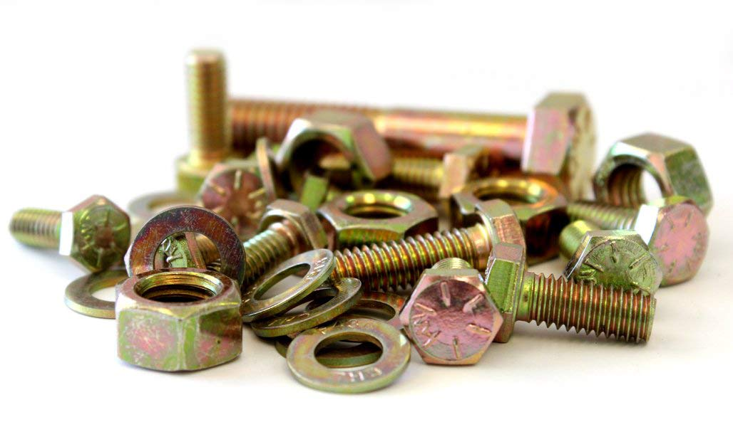 1250 Piece Grade 8 USS Bolt Head Cap Manufacturer direct Max 86% OFF delivery Assortment Washer Nut and