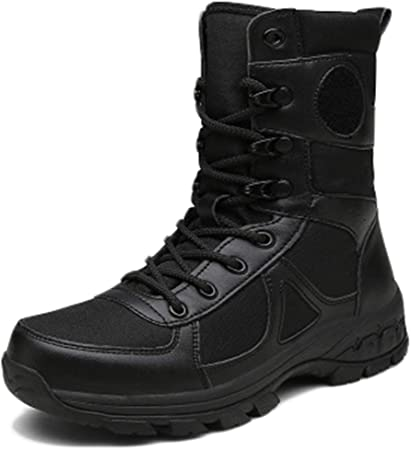 Wygwlg Botas de Senderismo para Hombre al Aire Libre Zapatos ...