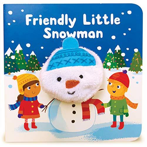 Friendly Little Snowman (Finger Puppet Book)