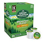 Keurig Coffee Pods K-Cups 16 / 18 / 22 / 24 Count Capsules ALL BRANDS / FLAVORS (24 Pods Green Mountain - Breakfast Blend Decaf)