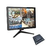Monitor CCTV 18 Pollici HDMI, Monitor BNC 16: 9 Con BNC/VGA/HDMI/Video Audio, Display LCD TFT 1336x768 per Sistemi di Sicurezza Domestica Telecamera di Sorveglianza 75x75mm VESA Montaggio a Parete