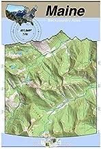 45°069° NW - Moosehead Lake, Maine Backcountry Atlas (Topo)