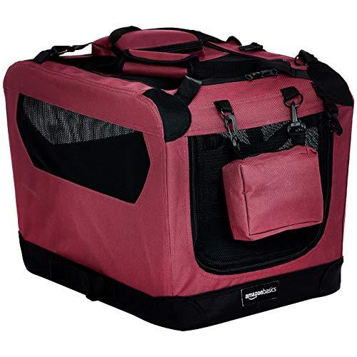 AmazonBasics Premium Folding Portable Soft Dog Crate