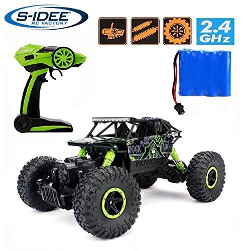 s-idee® 18158 Rock Crawler HB-P1803 mit 2,4 GHz 4WD Buggy Monstertruck